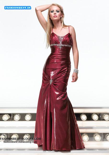 مدل لباس شب شیک و پیک