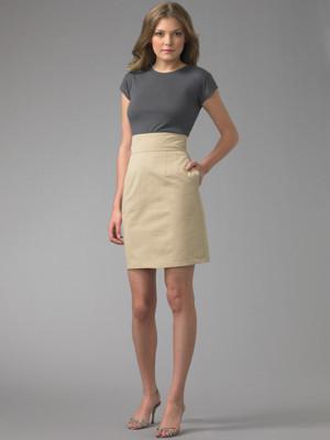Самой оригинальной дизайнерской высокой юбкой за последние несколько лет является юбка от дизайнера Зака Позена.